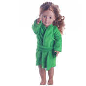 Ouneed Cute Soft Robe Dolls Robe fit for 46cm Doll