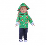 Baby Dolls Clothing, Beauty Top High-Quality Clothes & Pants For 46cm Our Generation American Girl Doll
