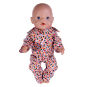 Baby Dolls Clothing, Beauty Top Cute Pyjamas Nightgown Clothes For 46cm Our Generation American Girl Doll