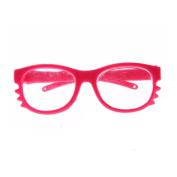 huichang Stylish Plastic Round Frame Glasses Sunglasses For For American Girl Doll 46cm