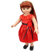 Dolls Clothing, MML Lovely Princess Dress Up Costume For 46cm Our Generation Girl Doll
