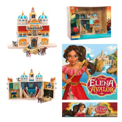 Disney Elena of Avalor princess mini play castle set doll figures carriage toy - lights up and plays song from the show