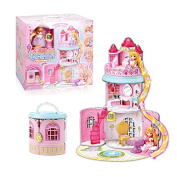 mimi world toy Little Mimi Rapunzel Castle, Little Princess House Toy For Girls