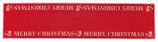 "KitchenCraft Little Red Robin Christmas Felt Table Runner, 136 x 31 cm (53.5"" x 12"") - Red"