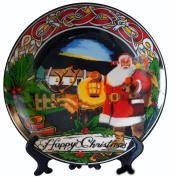 Santa Ceramic Plate 20cm