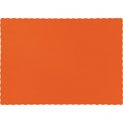 Touch of Colour Placemats, 24cm x 34cm , Sunkissed Orange, 50 Ct