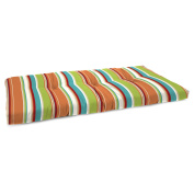 Jordan Manufacturing 100cm . Boxed Outdoor Bench Cushion - Covert Breeze