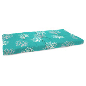 Jordan Manufacturing 100cm . Boxed Outdoor Bench Cushion - Isadella Ocean