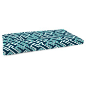 Jordan Manufacturing 100cm . Boxed Outdoor Bench Cushion - Jasper Ocean