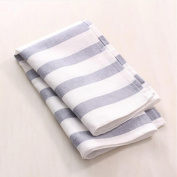 MXJ61 Hotel Restaurant Cotton Wipe The Cup Napkin Cloth Mouth Cloth 59 * 49cm