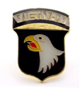 101st Airborne Division US Army Vietnam Lapel Hat Pin Gift Military PPM014