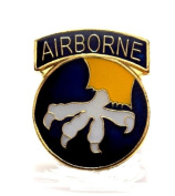 17th Airborne Divison US Army Lapel Hat Pin Gift Military PPM035