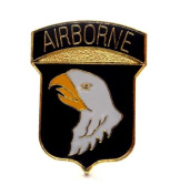 Wholesale Lot of 12 101st Airborne Divison Screaming Eagles US Army Lapel Pin PM1927