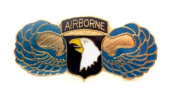 Wholesale Lot of 12 101st Airborne Divison Screaming Eagles US Army Lapel Pin PM044