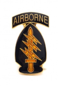 Wholesale Lot of 12 Airborne Special Forces US Army Lapel Hat Pin Gift PPM033