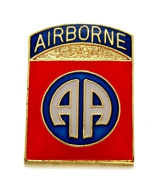 Wholesale Lot of 12 82nd Airborne Division US Army Lapel Hat Pin Military PM1927