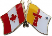 Canada Nunavut Friendship Pin