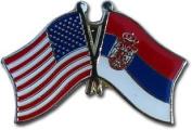 Serbia Friendship Pin