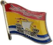 New Brunswick Flag Lapel Pin