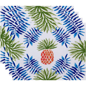 Simply Daisy 46cm x 36cm Pineapple and Spike Geometric Print Placemat