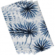 Simply Daisy 48cm x 48cm Spike and Stamp Floral Print Napkin