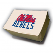NCAA Mr. Bar-B-Q Rectangle Table Cover, University of Mississippi Rebels Ole Miss