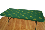 College Covers Fan Shop Oregon Ducks 1.8m Fitted Table Cover - 180cm x 80cm