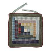 Patch Magic Wild Goose Log Cabin Chair Pad 41cm X 41cm