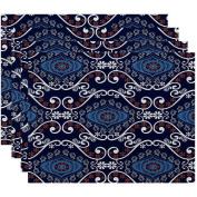 Simply Daisy 46cm x 36cm Illuminate Geometric Print Placemat