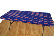 College Covers Fan Shop Mississippi Rebels 1.8m Fitted Table Cover - 180cm x 80cm