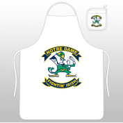 NCAA Notre Dame Tail Gate Kit with Apron and Mitt