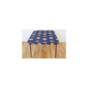 College Covers Fan Shop Auburn Tigers Fitted Card Table Cover - 80cm x 80cm