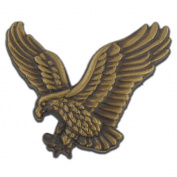 PinMart's Soaring American Bronze Eagle Jewellery Lapel Pin
