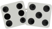 Danecraft Dice Rockabilly Casino Enamel Pin Brooch