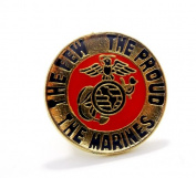 Wholesale Lot of 12 Marines USMC The Few The Proud Lapel Hat Pin Military PPM015