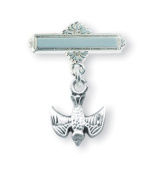 Sterling Silver Baby 4-Way Pin