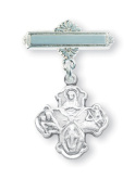 Sterling Silver Baby Holy Baptism Pin