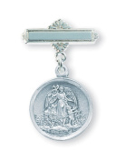 Sterling Silver Baby Holy Spirit Pin