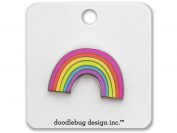 Doodlebug Fairy Tales Enamel Pin Rainbow
