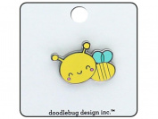 Doodlebug Spring Things Enamel Pin Honey Bee