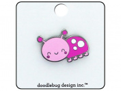 Doodlebug Spring Things Enamel Pin LittleLady