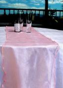 Quasimoon Organza Table Runner - Pink by PaperLanternStore