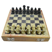 Royal Handicrafts Handcrafted Soapstone Chess Set