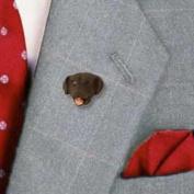 DHP24C CON Labrador Retriever Chocolate Pin