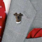 DHP50A CON Fox Terrier Brown & White Pin