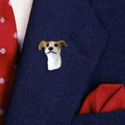 DHP54D CON Greyhound Tan & White Pin