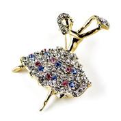Ballet Dancer Russian Royal Brooch Pin