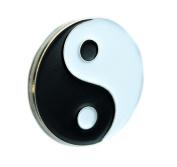Yin Yang Chi Symbol Lapel Pin Martial Arts Clothing Bruce Lee Naruto
