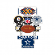 Super Bowl XXX (30) Steelers vs. Cowboys Champion Lapel Pin