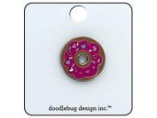 Doodlebug Cream & Sugar Enamel Pin Donut